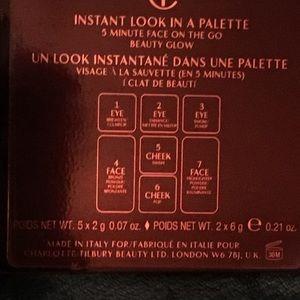 Charlotte Tilbury Makeup - Charlotte Tilbury instant look in a palette